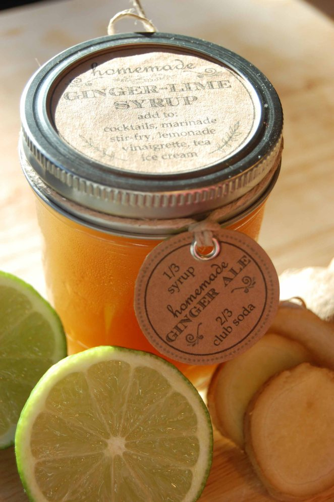 Ginger Lime Syrup - web